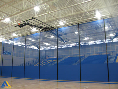 ADP Roll- Up Gym Divider Curtain P