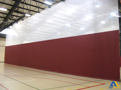 ADP Top Roll Gym Divider Curtain P