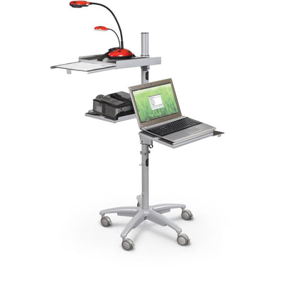 Alpha Cart - Height Adjustable Mobile Workstation P