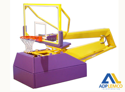 ADP Pro H Hydraulic Portable Basketball Backstop P