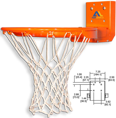 ADP Rear-Mount Playground Breakaway Basketball Rim P