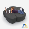 ADP ECONOMY GRAY SHAPES SOFT SEATING P