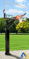 ADP All Pro Jam Adjustable Basketball Hoop with Glass Board