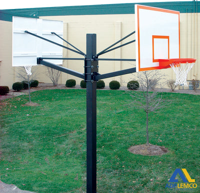 ADP Endurance® Dual Playground Basketball System P
