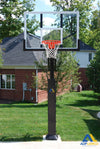 ADP Collegiate Jam Adjustable Basketball Hoop P