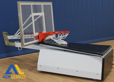 ADP Recreational Roll-Around Portable Basketball System