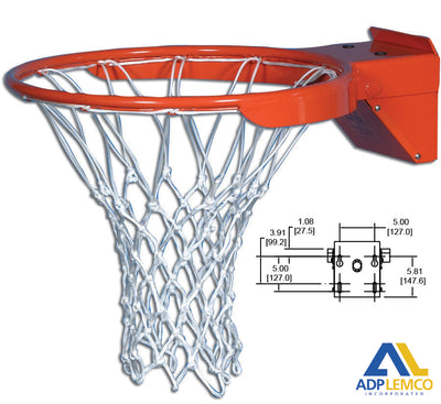 ADP Snap Back A Professional Breakaway Basketball Rim P