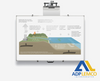 ADP ELEVATION INTERACTIVE WHITEBOARD WALL MOUNT P