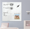 Customizable Magnetic Glass Whiteboard