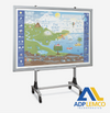 ADP GENIUS MOBILE WHITEBOARD STAND P