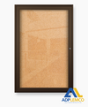 ADP Outdoor Enclosed Bulletin Board Cabinet