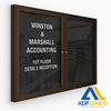 ADP Indoor Enclosed Directory Board Cabinet