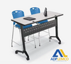 ADP NIDO SIT/STAND HEIGHT ADJUSTABLE FLIPPER TABLES P