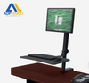 ADP Up-Rite Rear Mount Desk Mounted Sit-Stand Workstation P