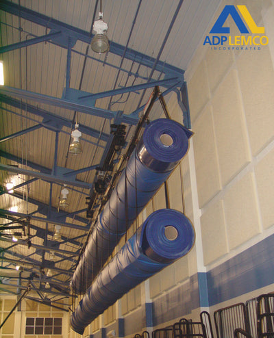 ADP Side Moving Mat Carrier System, 40' Double Load Bar P