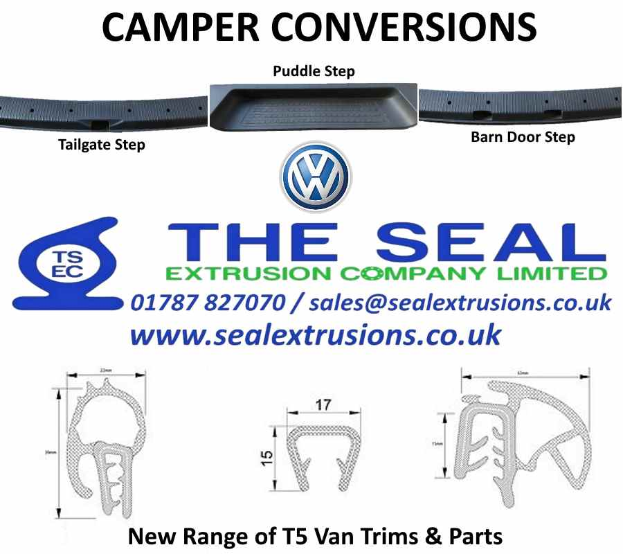T5 Camper Parts New for August 2018