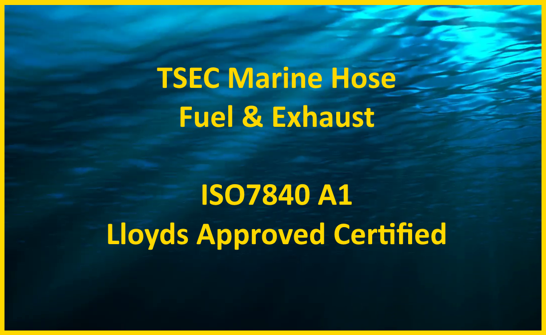 Marine Fuel & Exhaust Hose (Lloyds Approved)
