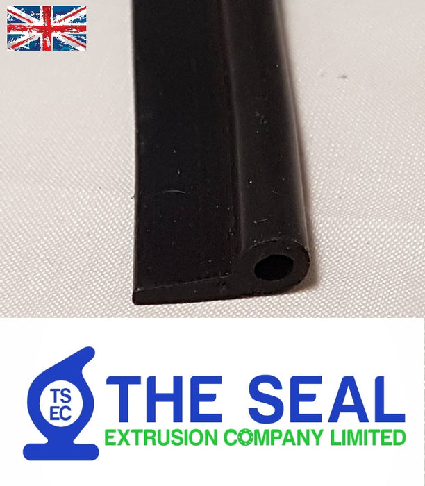 TSEC-106 Rubber 'P' profile Trim Seal - The Seal Extrusion Company LTD