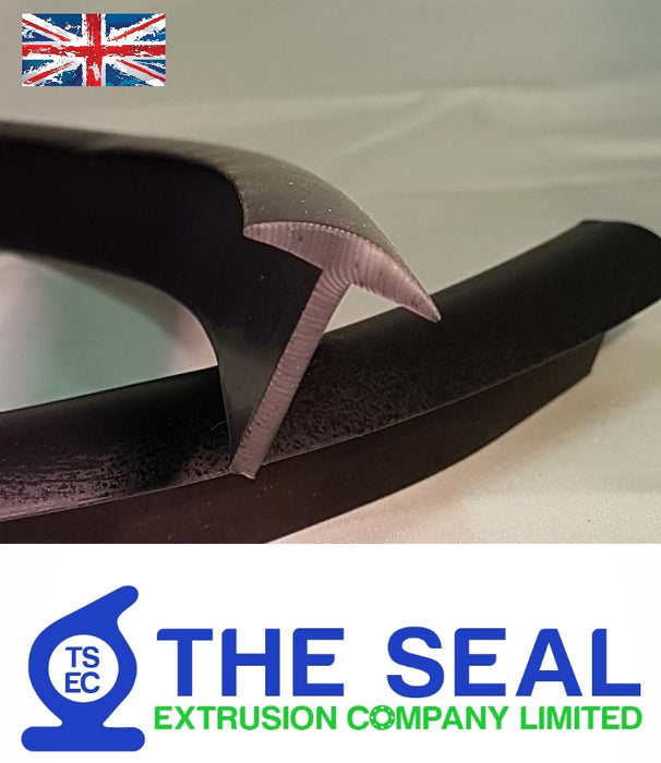 TSEC-1566 Rubber T Section - The Seal Extrusion Company LTD