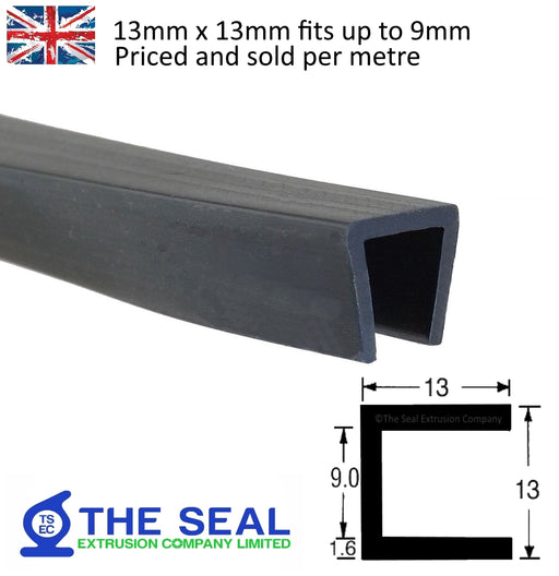 TSEC668 Square Edge Trim - The Seal Extrusion Company LTD