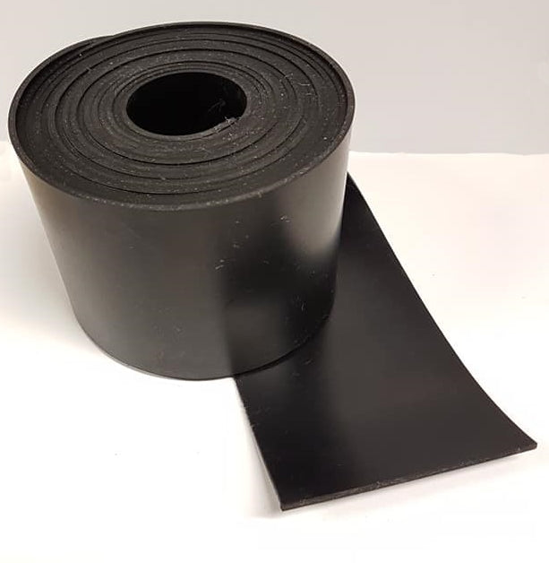 TSEC-NEO SOLID NEOPRENE RUBBER STRIP (Bulk Pricing) 50MM X 6MM X 10MTR - The Seal Extrusion Company LTD