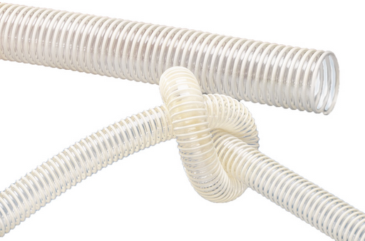 Food Grade Anti Static Hose - Norplast 385 - 10mtr coils - The Seal Extrusion Company LTD