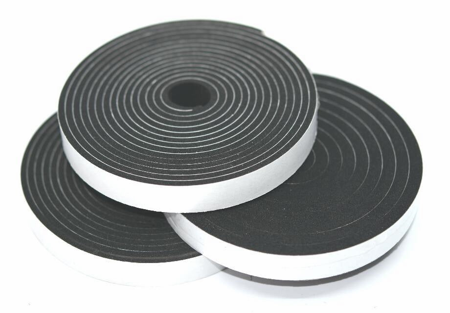 TSEC-SAB Self Adhesive Backed Neoprene Sponge Strip - The Seal Extrusion Company LTD