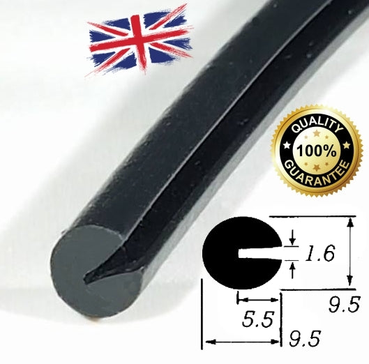 TSEC-1606 Large Round Edge Trim - The Seal Extrusion Company LTD