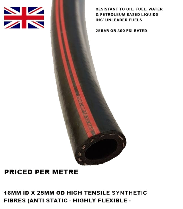 TSEC-MP Low Pressue Power Steering Hose (Priced per metre) 10mm ID or 16mm ID - The Seal Extrusion Company LTD