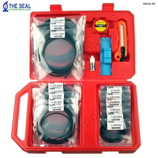 TSEC-ORK001 O-Ring Splicing Kit Complete Selection from 1.78mm to 8mm Cord - The Seal Extrusion Company LTD