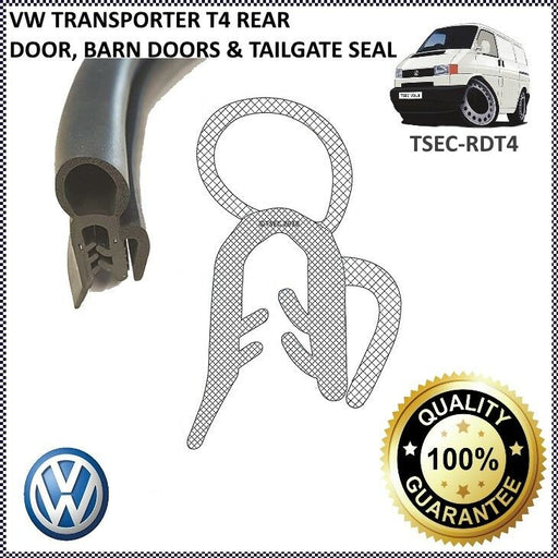 VW TRANSPORTER T4 1990 - 2004 TAILGATE BARN REAR DOOR RUBBER BODY SEAL - The Seal Extrusion Company LTD