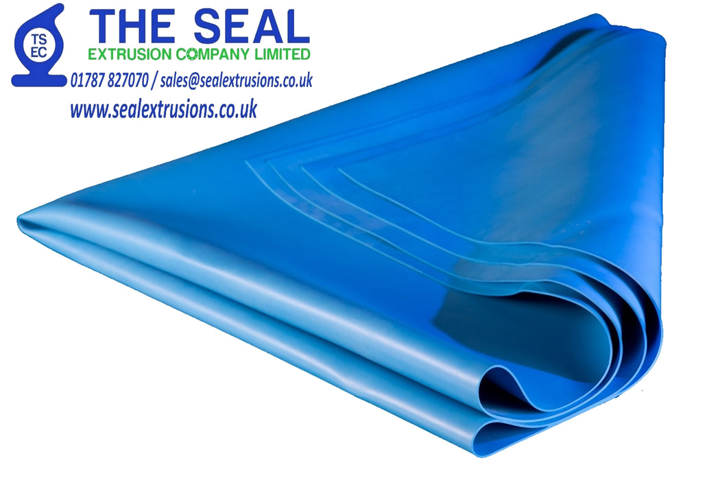 Nitrosamine-free Blue Metal Detectable Rubber - The Seal Extrusion Company LTD