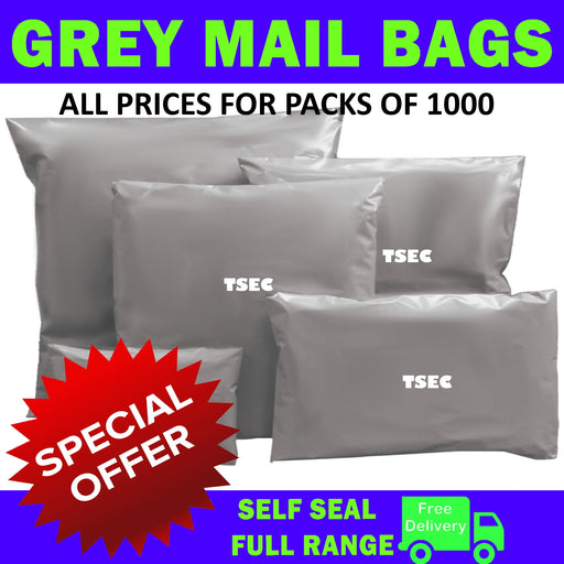 Grey Mail Bags