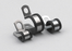 M6 P-Clip - zinc plated - The Seal Extrusion Company LTD
