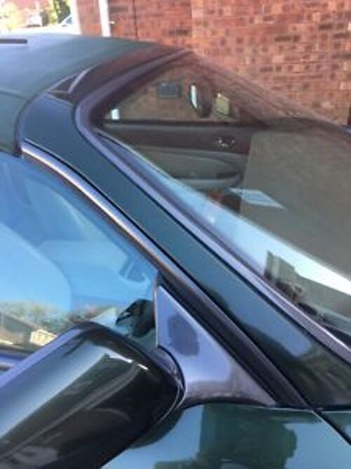 "Jaguar XK8-R Convertible ""A Post"" Window Trim Rubber Seal"