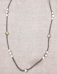 Boho Chic Handmade Pearl Necklace