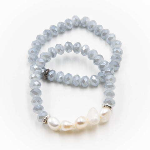 Ice Blue Bracelet Set