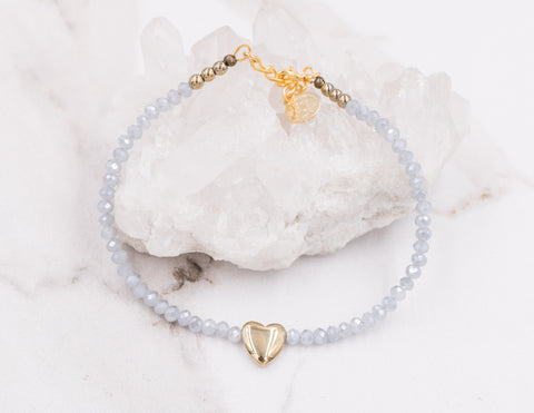 Summer - Ice Crystal Anklet