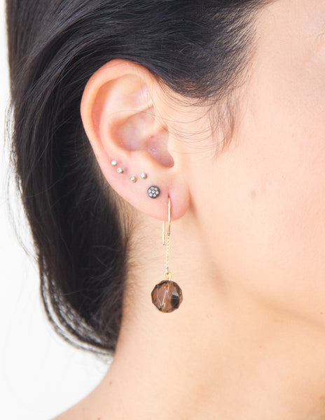 Gisele - Smoky Quartz Earrings