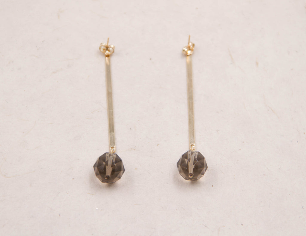 Theresa - Smoky Quartz Earrings