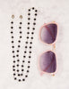 Eye Glass Chain - Onyx