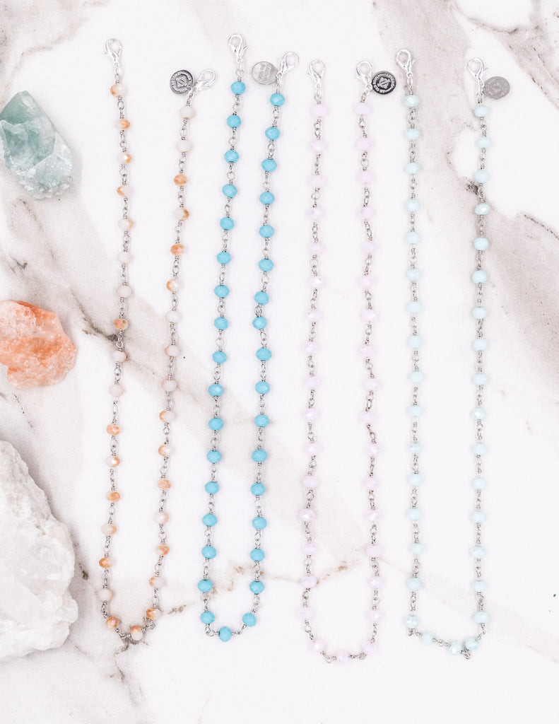 Mask Chains- Silver Colorful