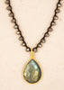 Addison - Dark Labradorite
