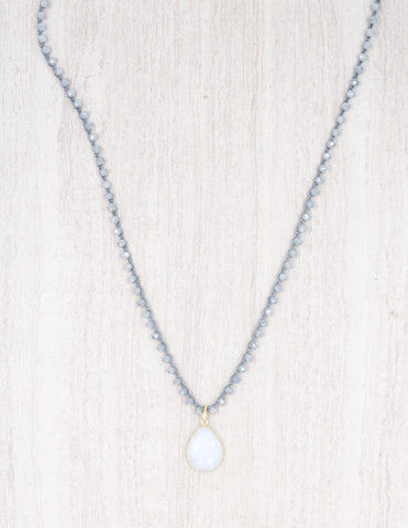 Addison- Ice with Opalite