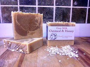 Dunedin Soap Company Goat Milk, Oatmeal & Honey Hand-Crafted Soap