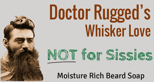 Dunedin Soap Company Doctor Rugged's Whisker Love - Hand-Crafted Soap