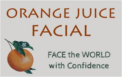 Orange Juice Facial