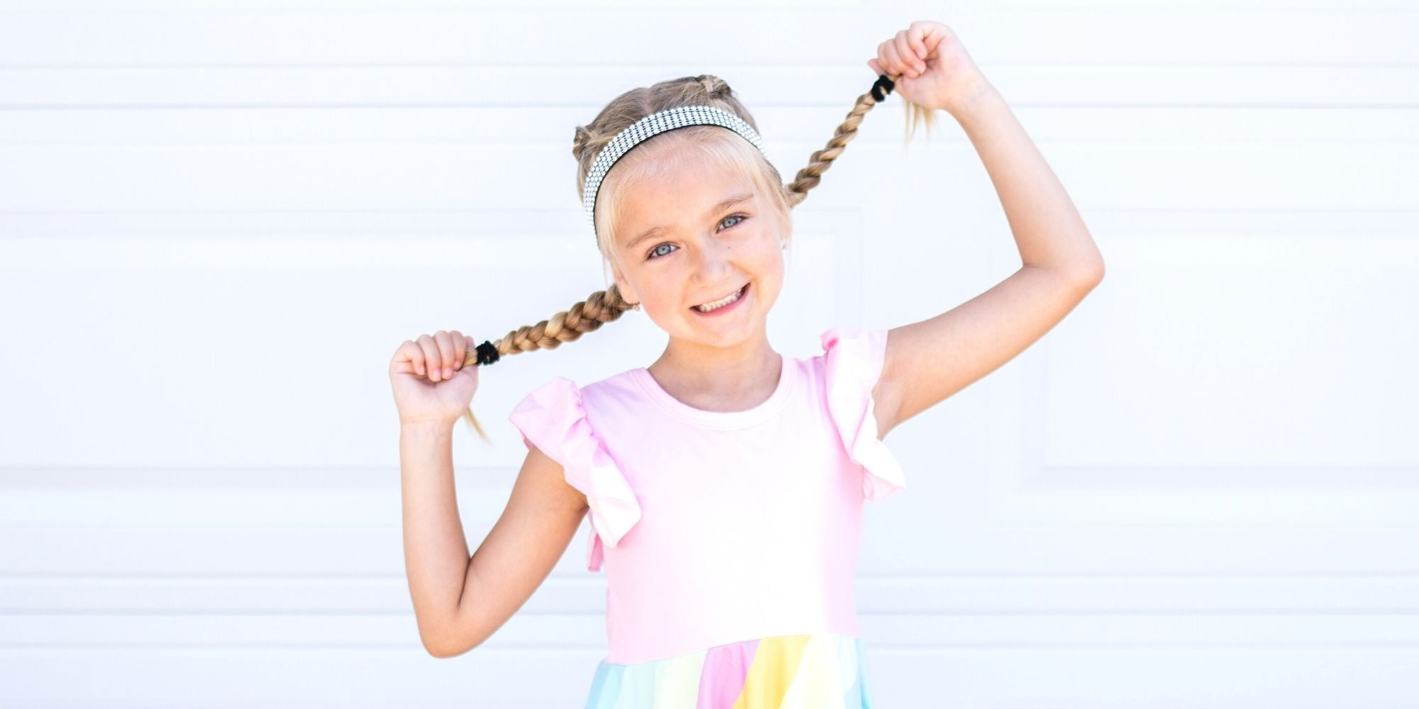 frog sac headbands for girls hair accessories for kids