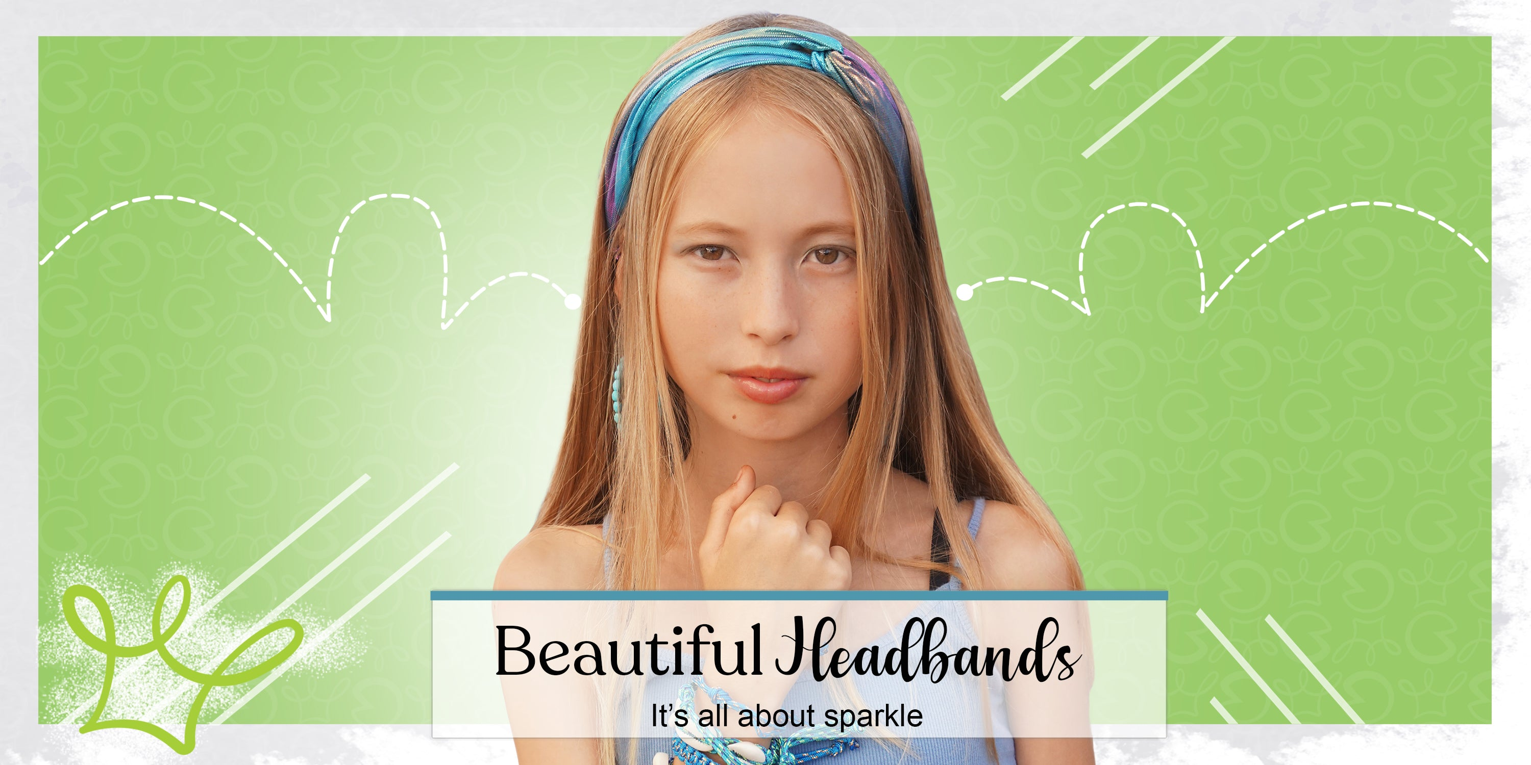 beautiful headbands by frog sac