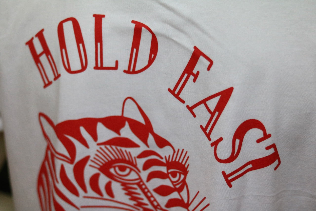 Hold Fast T-Shirt † By Clemens Hahn - White